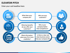 Elevator Pitch PPT Slide 3