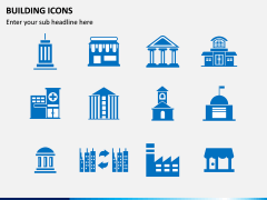 Building Icons PPT Slide 6