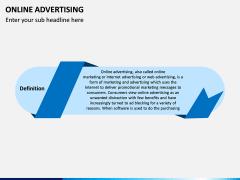 Online Advertising PPT Slide 1