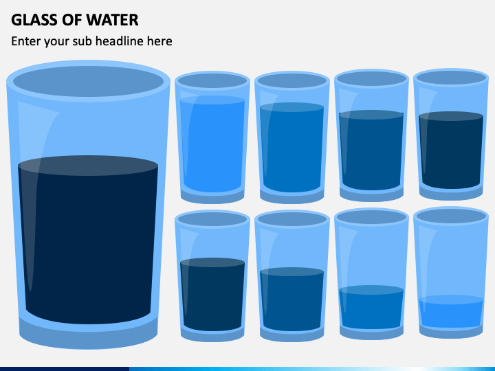 Glass of Water PPT Slide 1