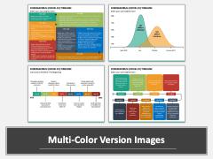 Coronavirus COVID-19 Timeline Multicolor Combined