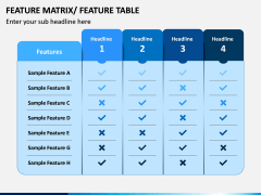 Features Matrix PPT Slide 7