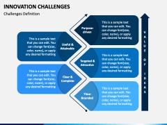Innovation Challenges PPT Slide 3