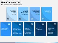 Financial Objectives PPT Slide 5