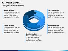 3D Puzzle Shapes PPT Slide 9