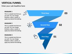 Vertical Funnel PPT Slide 8
