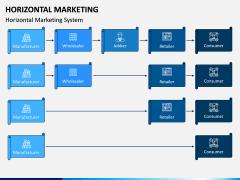 Horizontal Marketing PPT Slide 1