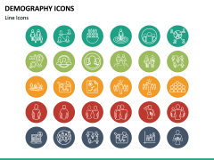 Demography Icons PPT Slide 4
