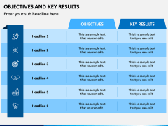 Objectives and Key Results PPT Slide 2