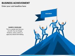 Business Achievement PPT Slide 1
