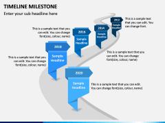 Timelines Milestone PPT Slide 1