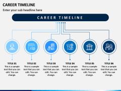 Career Timeline PPT Slide 2
