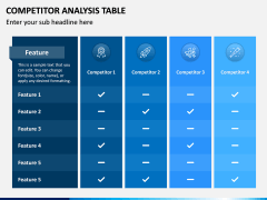 Competitor Analysis Table PPT Slide 5