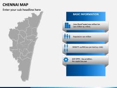 Chennai Map PPT Slide 3