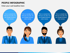 People Infographic PPT Slide 3