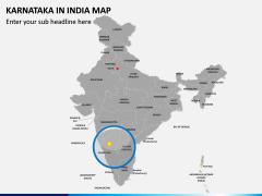 Karnataka Map PPT Slide 4