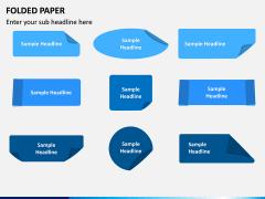 Folded Paper PPT Slide 4