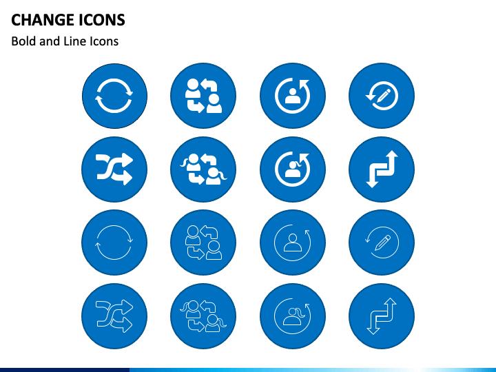 Change Icons PPT Slide 1