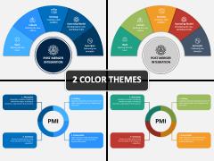 Post Merger Integration PPT Cover Slide
