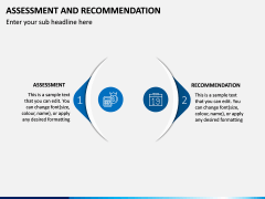 Assessment and Recommendation PPT Slide 8