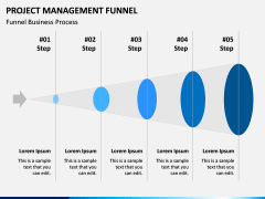 Project Management Funnel PPT Slide 4