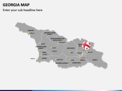 Georgia Map PPT Slide 3