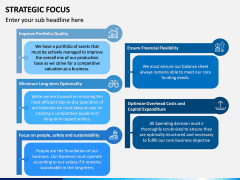 Strategic Focus PPT Slide 9