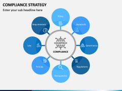 Compliance Strategy PPT Slide 1
