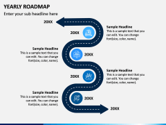 Yearly Roadmap PPT Slide 4