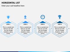 Horizontal List Infographics PPT Slide 8