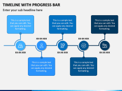 Timeline With Progress Bar PPT Slide 4