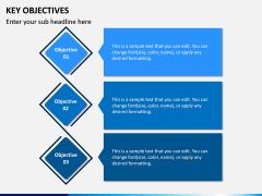 Key Objectives PPT Slide 2