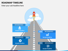 Roadmap Timeline PPT Slide 3