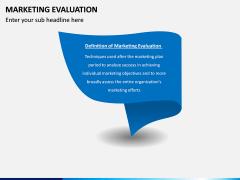 Marketing Evaluation PPT Slide 1