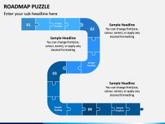 Roadmap Puzzle PPT Slide 3