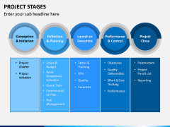 Project Stages PPT Slide 1