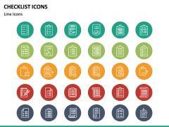 Checklist Icons PPT Slide 4
