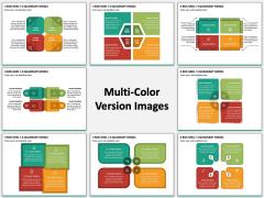 4 Box Grid Multicolor Combined