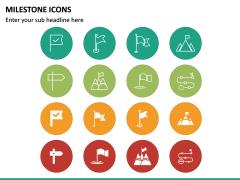 Milestone Icons PPT Slide 3
