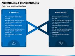 Advantages Disadvantages PPT Slide 5