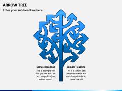 Arrow Tree PPT Slide 2