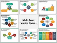 Organizational Innovation Multicolor Combined