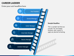 Career Ladder PPT Slide 1