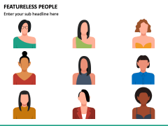 Featureless People PPT Slide 5