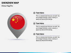 Shenzhen Map PPT Slide 4