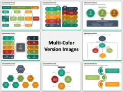 eBusiness Strategy Multicolor Combined