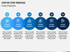 Step By Step Process PPT Slide 9