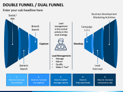 Double (Dual) Funnel PPT Slide 2
