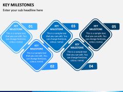 Key Milestones PPT Slide 9