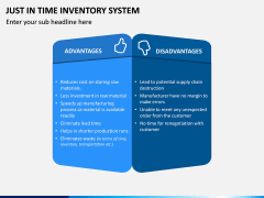 Just In Time (JIT) Inventory System PPT Slide 6